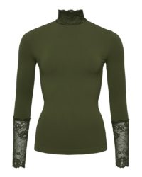 All-lace top – Army – Tim&Simonsen