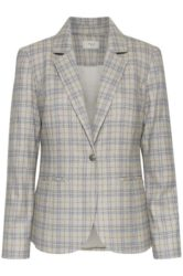Blazer – Julia – Blue/yellow Check – Pulz