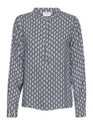 Bluse – Adney -blue mosaic – Freequent