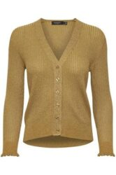 Cardigan – Goldy – Gold – Soaked in Luxury