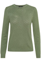 Pullover – Menika – Hedge Green – Soaked in Luxury