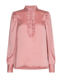 Skjorte-bluse – April Dobby – Silver Pink – Freequent